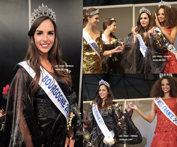 Miss Bourgogne 2017 est Mélanie Soarès