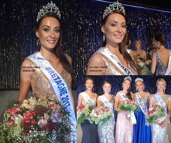 Miss Bretagne 2017 est Caroline Lemée