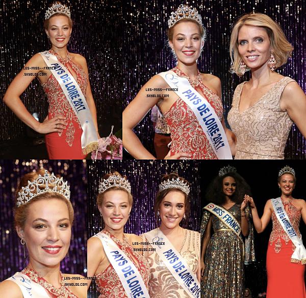 Miss Pays de Loire 2017 est Chloé Guémard