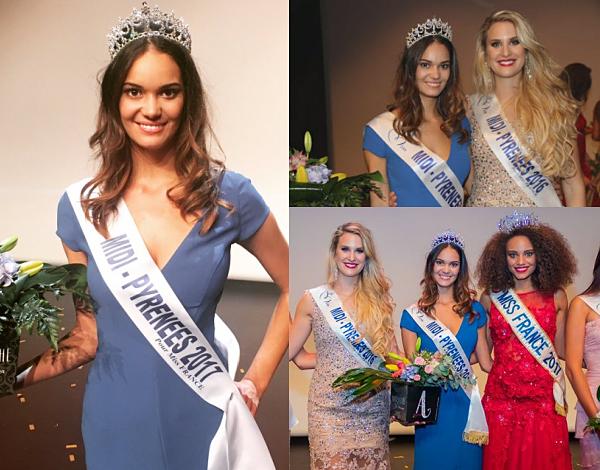 Miss Midi-Pyrénées 2017 est Anaïs Dufillo-Medellel