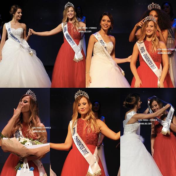 Miss Poitou-Charentes 2017 est Ophélie Forgit