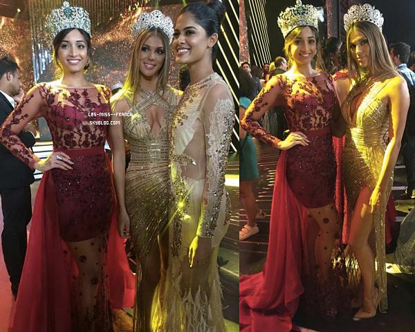 11 Oct. 2017 | Iris était à l'élection de Miss Inde