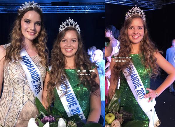 Miss Normandie 2017 est Alexane Dubourg