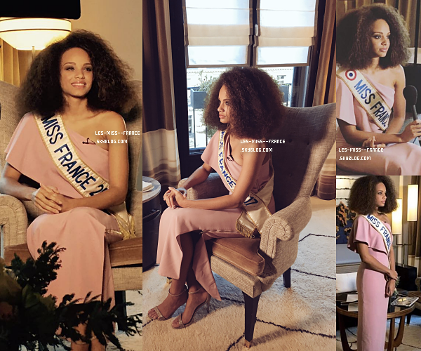 20 Oct. 2017 | Interview d'Alicia sur Miss Univers