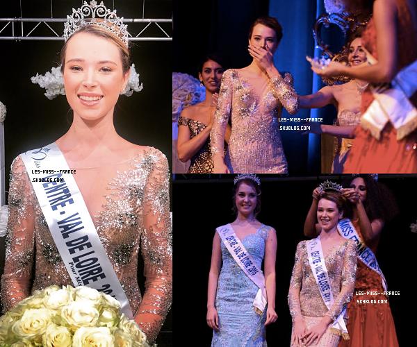 Miss Centre-Val de Loire 2017 est Marie Thorin