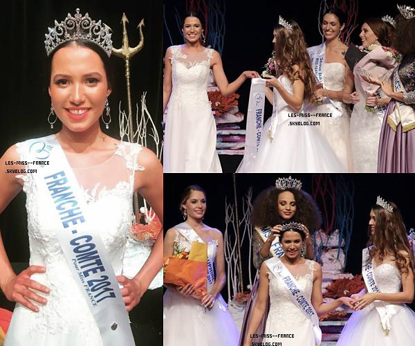 Miss Franche-Comté 2017 est Mathilde Klinguer