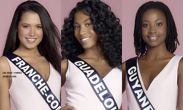 Partie 1 | Découvrez le portrait de 15 nouvelles candidates à Miss France 2018