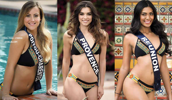 Partie 2 | Découvrez le portrait de 15 nouvelles candidates à Miss France 2018