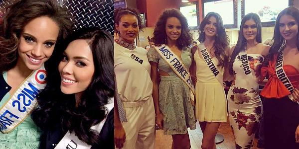 11 Nov. 2017 | Alicia vient de s'envoler pour Miss Univers !