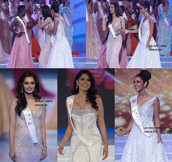 Miss Monde 2017 est Miss Inde !