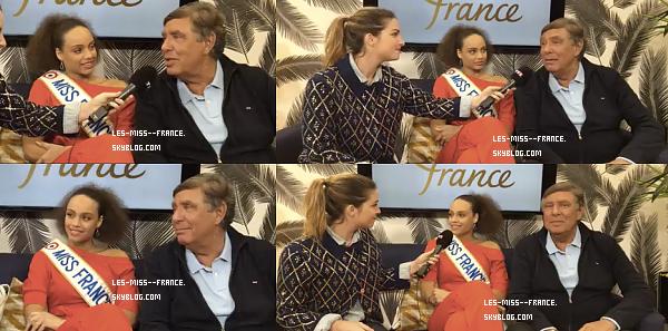 14 Déc. 2017 | Tournée médiatique pour l'élection Miss France 2018