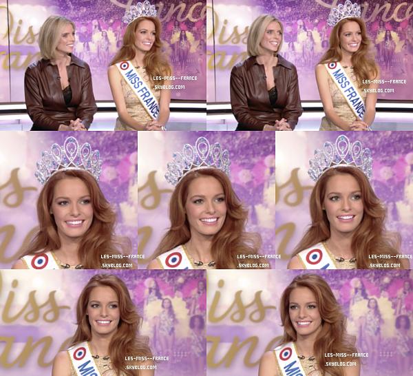 Actualité Miss France : Tournée médiatique