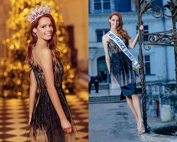 MAGAZINES -- Miss France 2018, Maeva Coucke dans la magazine Gala et Paris Match