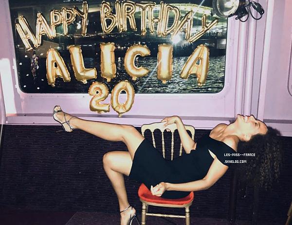 21 avril 2018 | Bon anniversaire à Alicia qui fête ses 20 ans !