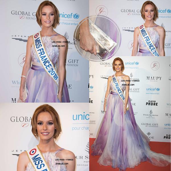 EVENTS -- Maëva Coucke était au Global Gift Gala, le 25 mai 2018