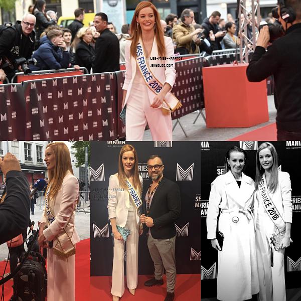 EVENTS -- Maëva Coucke était au festival de séries à Lille