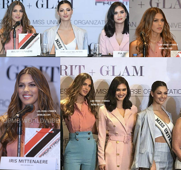 08 mai 2018 | Conférence de presse et défilé de mode aux Philippines