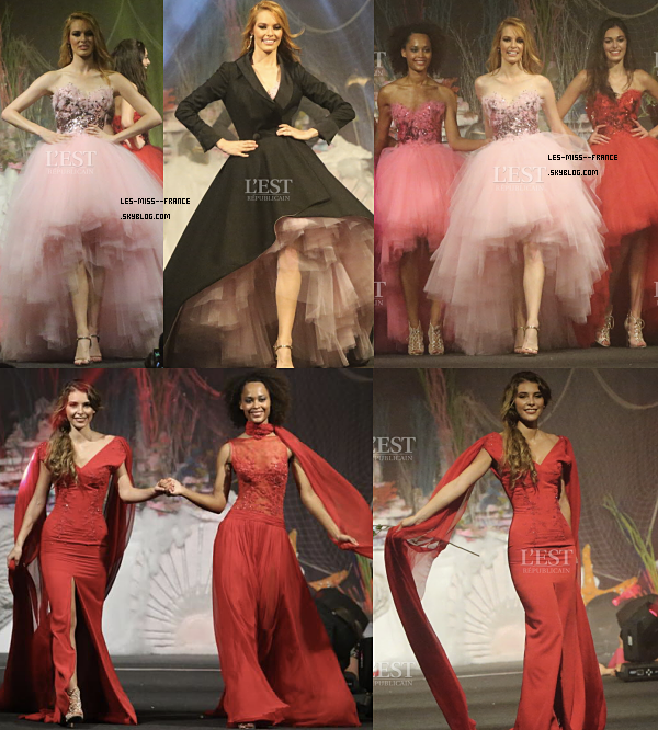 Premier show Miss France