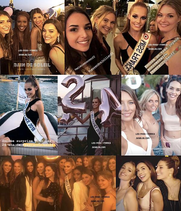 ANNIVERSAIRE -- Nos miss réunies pour l'anniversaire de Miss France 2018