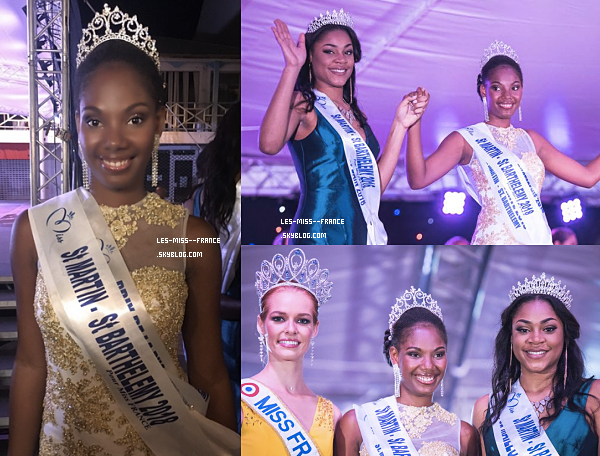 Miss Saint-Martin 2018 est Allison Georges