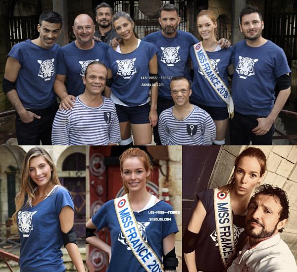 Diffusions de Fort Boyard avec nos belles Miss France