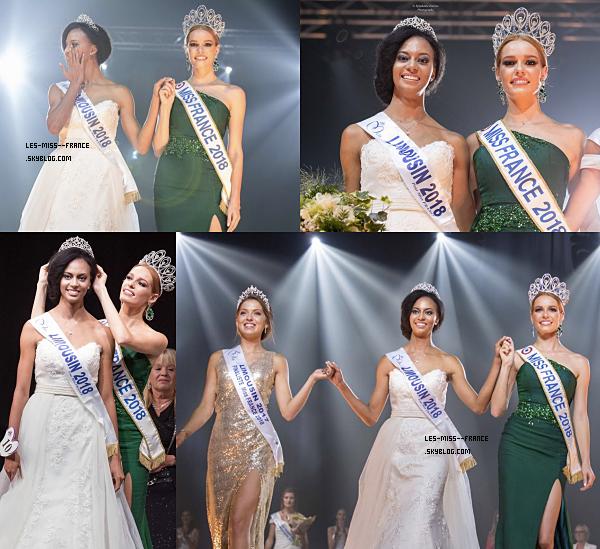Miss Limousin 2018 est Aude Destou