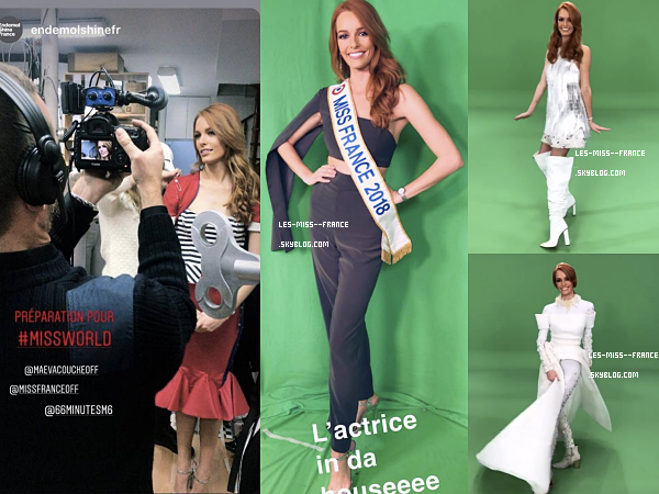 Couronne Miss France / Tournage Miss France