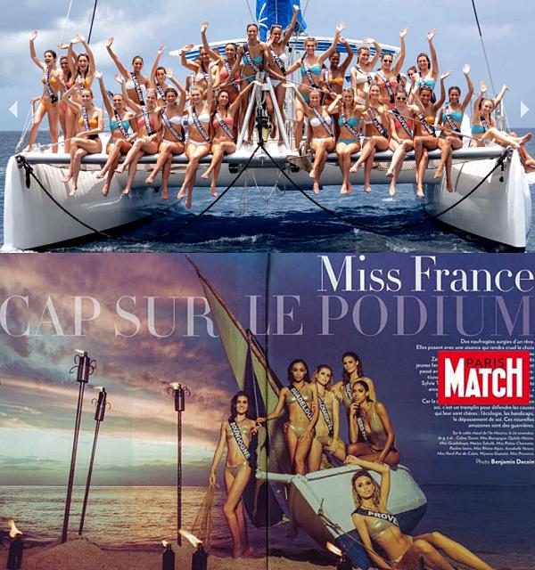 Jury Miss France 2019 / Magazines