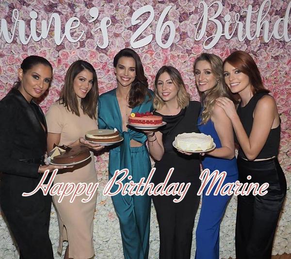 16 mars 2019 | Bon anniversaire à Marine Lorphelin ♥︎