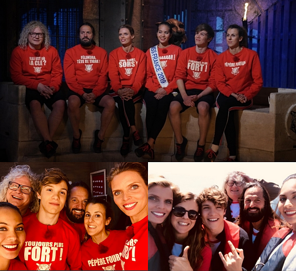 ÉMISSION -- Diffusion de l'émission Fort Boyard avec nos Miss France