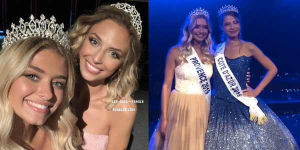 Miss Côte d'Azur 2019 est Manelle Souahlia