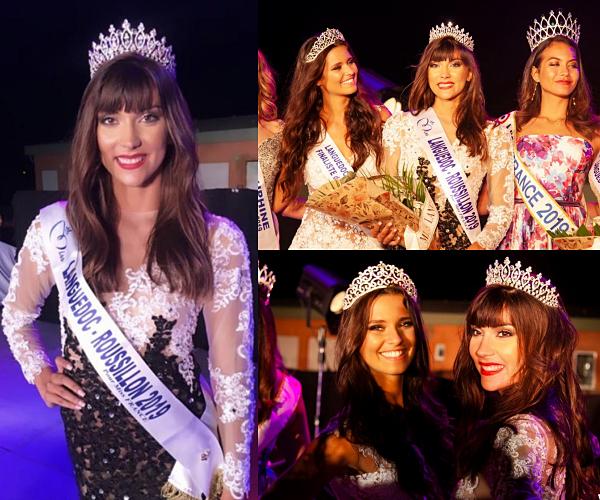Miss Languedoc-Roussillon 2019 est Lucie Caussanel.