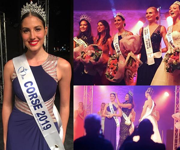 Miss Corse 2019 est Alixia Cauro