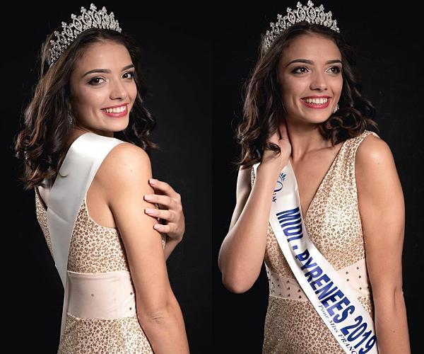 Miss Midi-Pyrénées 2019 est Andréa Magalhaes
