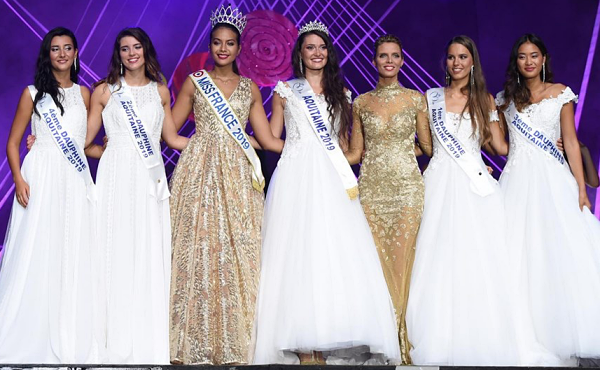 Miss Aquitaine 2019 est Justine Delmas