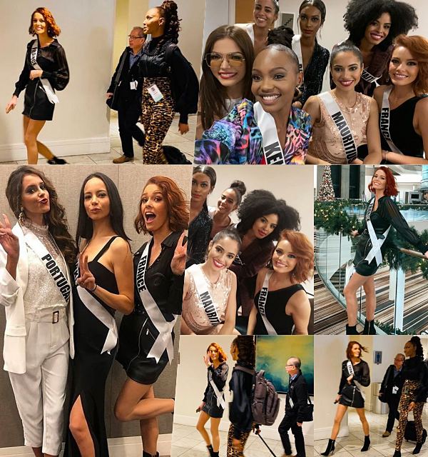 Prépa Miss Univers à Atlanta