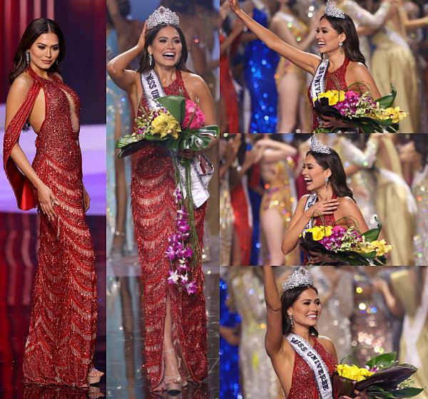 La 69ème Miss Univers est Miss Mexique !