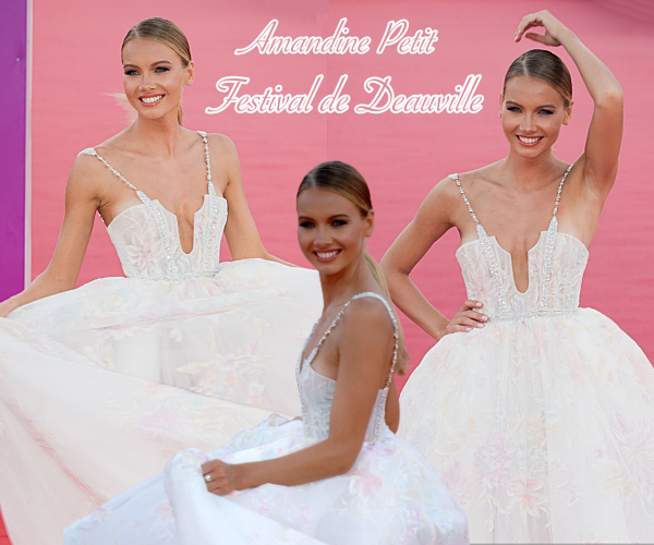EVENTS -- Amandine était au Festival du Cinéma Américain