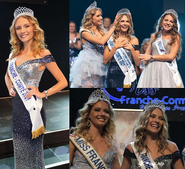 Miss Franche Comté 2021 est Julie Cretin