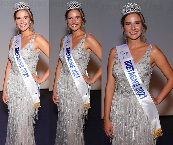 Miss Bretagne 2021 est Sarah Conan