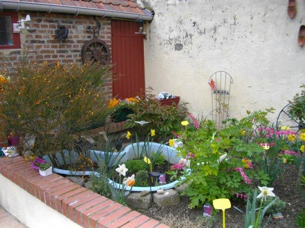 mon petit jardin de fleur