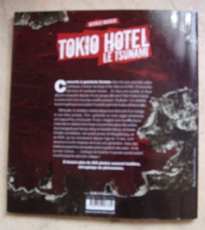 Livre sur Tokio Hotel.