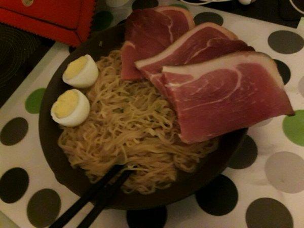 Mon repas de ce soir... Pour Lacie. 8D