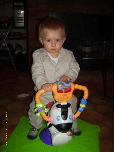 Mon petit prince a ses 1 ans !!!