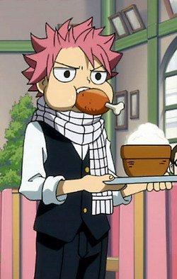 Petite Question : Qui d'après vous est le plus beau entre Luffy et Natsu?
