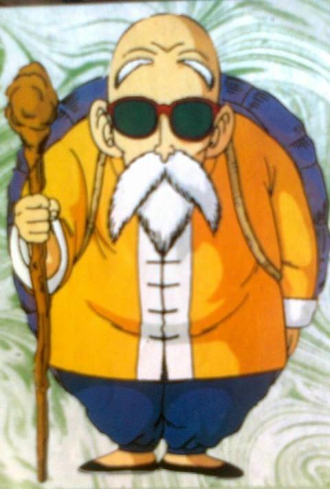 Le Maître des Tortues est stupéfait de la force qu'a notre jeune héros a la queue de singe pour son âge ! Avant de repartir Tortue Génial se propose d'être un Maître des Arts Martiaux pour Sangoku des qu'il aura fini sa quête des 7 Dragon Ball !
