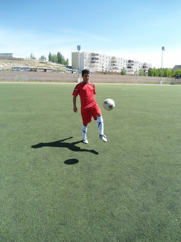 en mode footbaleur