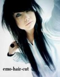 Photo de emo-girl-hair-love