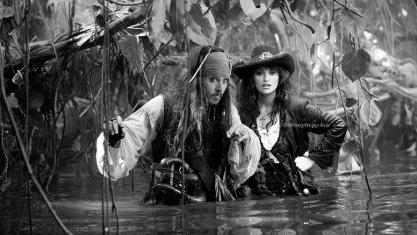 Johnny Depp et Pénélope Cruz