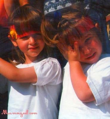 Meilleure amie et Moi en 1997 (L)' Je t'aiime __